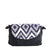 Vegan Camille Flores Jacquard Shoulder Bag - Blue - Veenofs