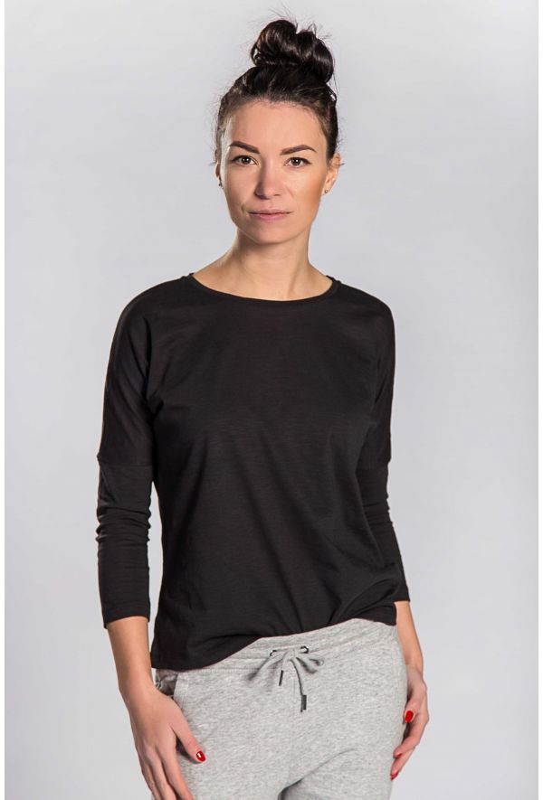 Slogan Women's Jasmin Top - Black - Veenofs