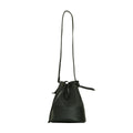 Vegan Camille Kinley Piñatex Bucket Bag - Black - Veenofs