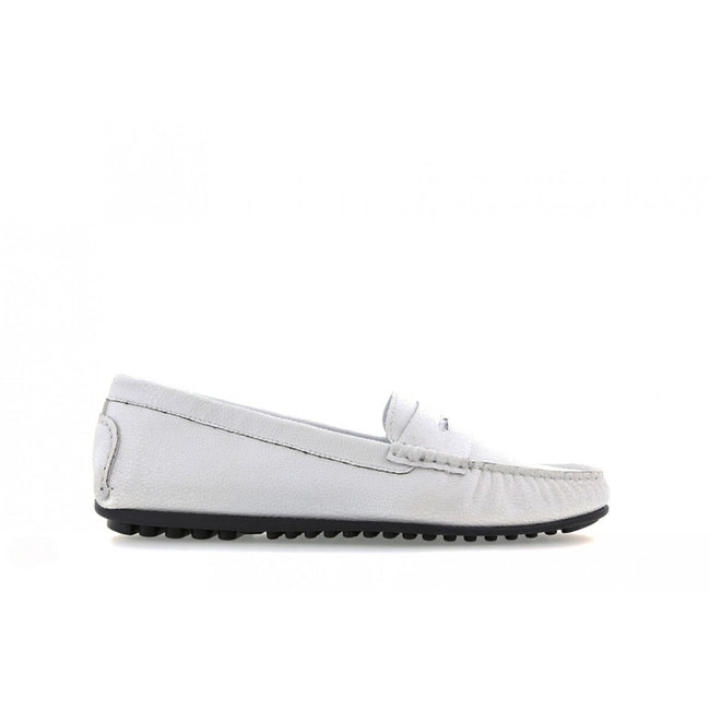 NOAH Tamara Razza Loafer - White - Veenofs