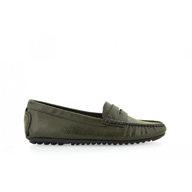 NOAH Tamara Razza Loafer - Green - Veenofs