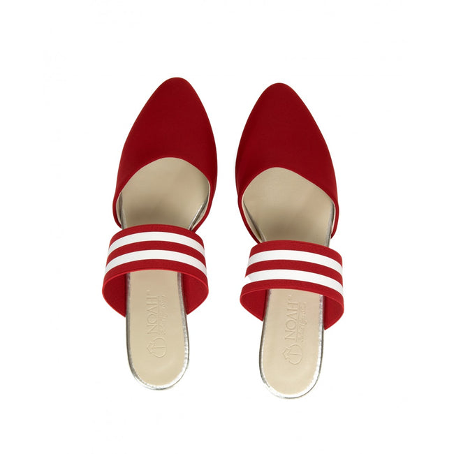 NOAH Isabella Slip-On Shoes - Red - Veenofs