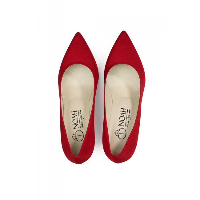 NOAH Gloria Pointed High Heels - Red - Veenofs