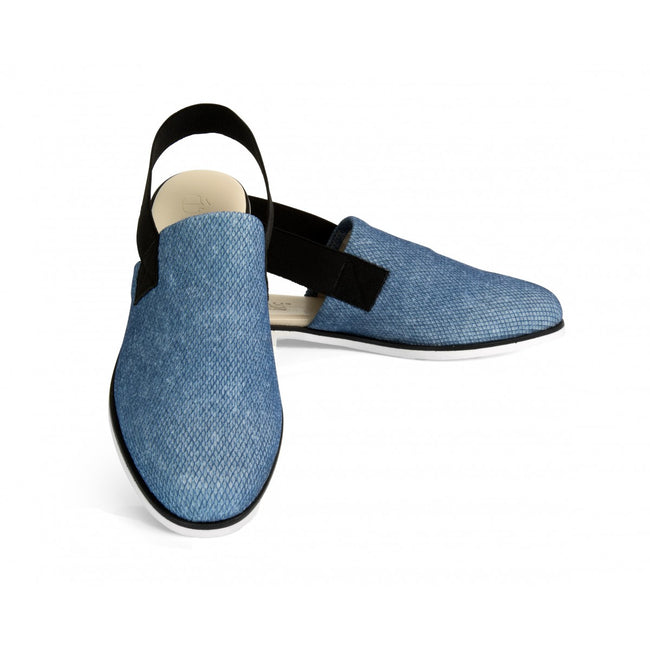 NOAH Camilla Slip-On Shoes - Blue - Veenofs