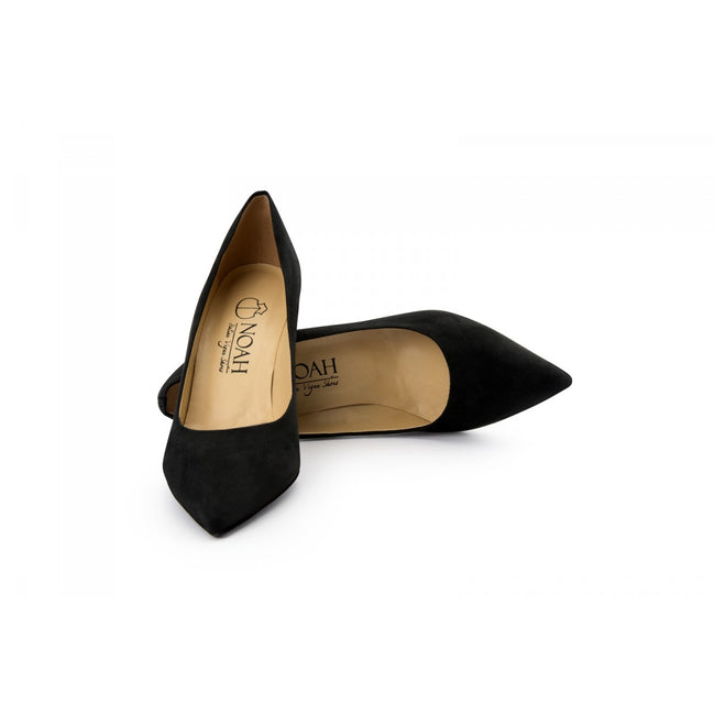 NOAH Gloria Pointed High Heels - Black - Veenofs