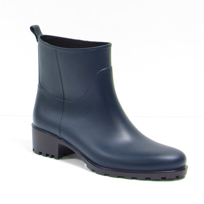 NOAH Betty Ankle Wellies - Blue - Veenofs