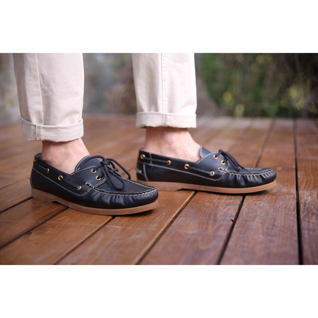 NOAH Christoph Nappa Loafer - Black - Veenofs