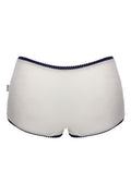 Vegan FAIRPANTS Boy Shorts - Pearl White - Veenofs