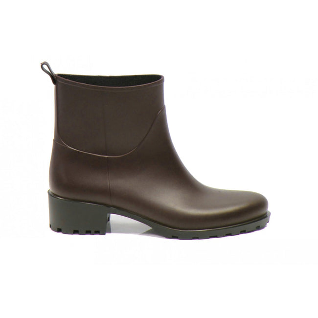 NOAH Betty Ankle Wellies - Brown - Veenofs