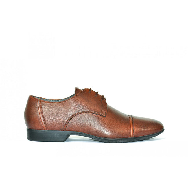 NOAH Roberto Derby Shoe - Brown - Veenofs