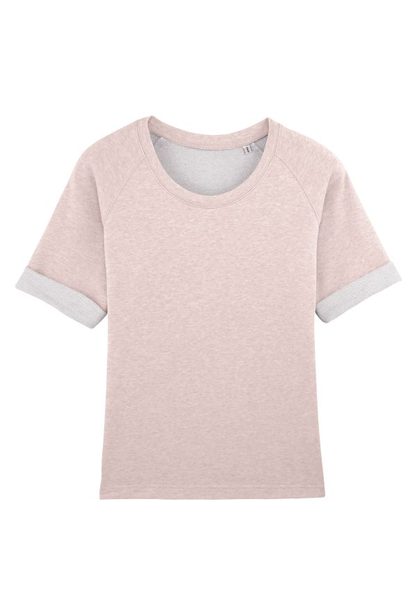 Slogan Women's Sorb Top - Pink - Veenofs