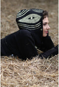 Slogan Women's The Eye Hoodie By OTECKI - Black - Veenofs