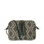 Vegan Camille Tasman Jacquard Crossbody Bag - Grey - Veenofs
