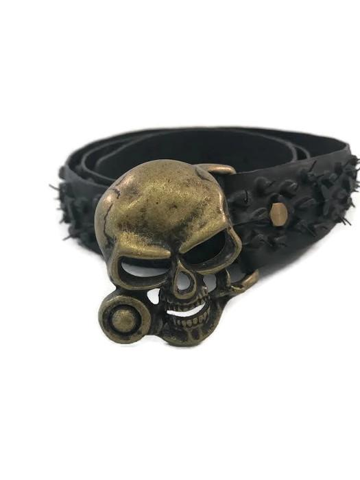 Vegan Laura Zabo Evil Skull Bicycle Tire Belt - Veenofs