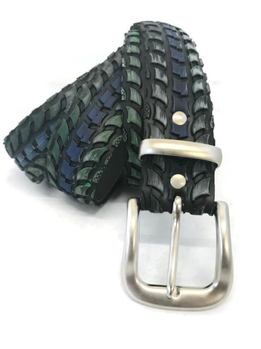 Vegan Laura Zabo Snake Skin Bicycle Tire Belt - Veenofs