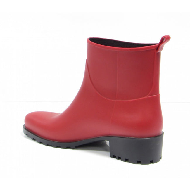 NOAH Betty Ankle Wellies - Red - Veenofs