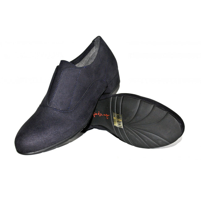 NOAH Greta Slip On Oxfords - Blue - Veenofs