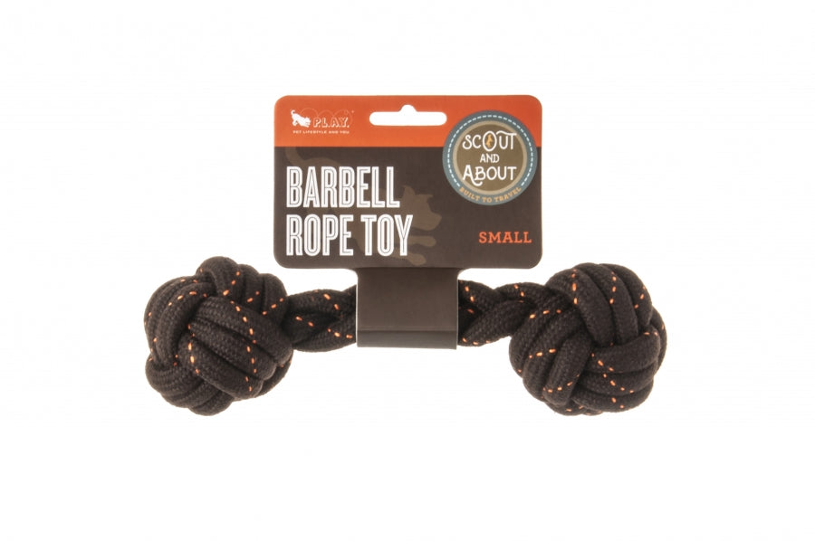 Barbell Rope Toy