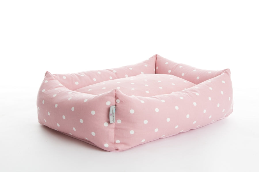 Dotty Rose Bolster Bed