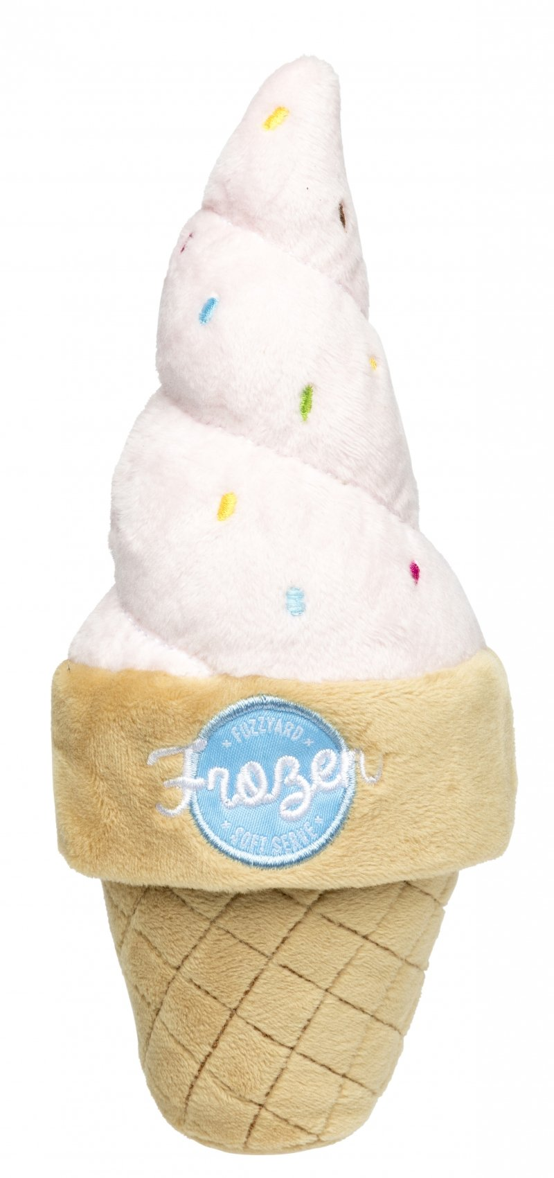 Ice Cream Cone  Dog Toy