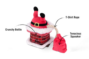 Christmas Clumsy Claus Plush Toy