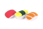 Feline Frenzy Sushi Cat Toy Set of 3