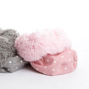 Pooch Pod Shaggy Baby Pink & Dotty Rose