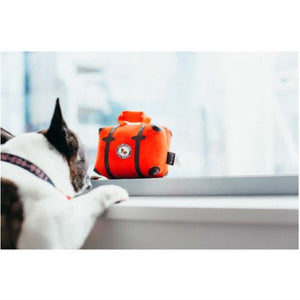 Pack and Snack Suitcase Dog Toy