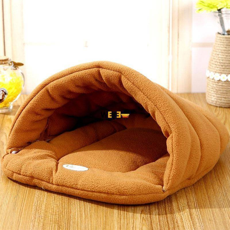 High Quality Warm Sleeping Fleece Dog Bed - The Pet Needs