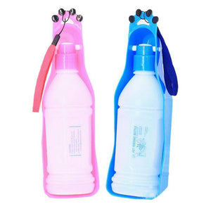 New Folding Pet Water Bottle Dispenser Dog