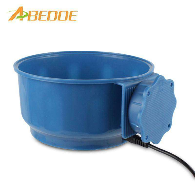 Water Bowl Heated Pet Feed Cage Bowl for Dogs - The Pet Needs