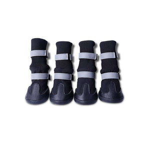 4pcs Waterproof Pet Boots for Medium to Large Dogs - The Pet Needs