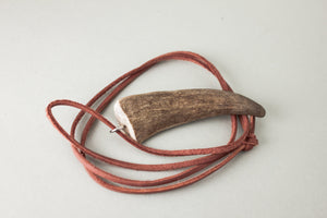 Simple antler necklace