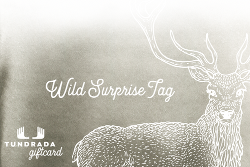 Gift Card of Wild Surprise tag