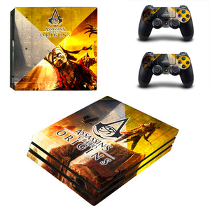 Video Game Accessories Video Games & Consoles Creed Origins 4 Sticker Console Decal Playstation 4 Controller Vinyl 1 Ps4 Skin