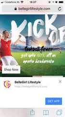 BelleGirl LifeStyle iOS App