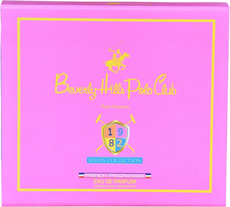 Shop Beverly Hills Polo Club 1982 Women's Series Collection 16ML X 4 Pcs Gift Set