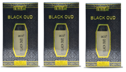 Aco Black Oud Alcohol Free Attar 8ML Online in India