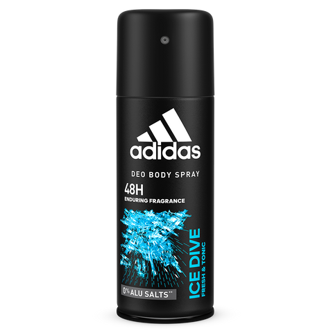 Adidas Ice Dive Deodorant Body Spray for men 150ML