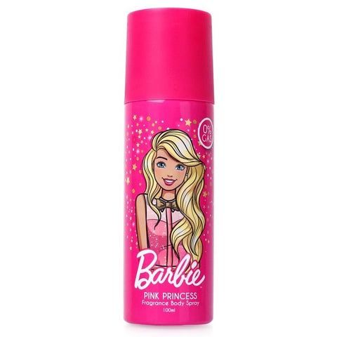 Barbie Pink Princess Fragrance Body Spray 100ML