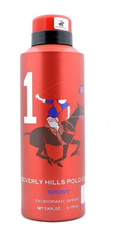 BHPC - Buy Beverly Hills Polo Club  Sport No 1 Deodorant 175ML Online in India.