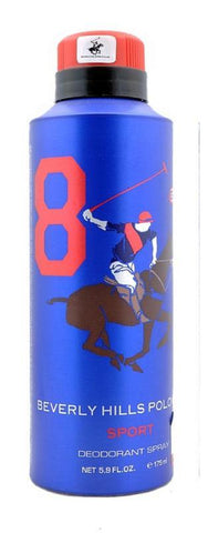 Beverly Hills Polo Club  Sport No 8 Deodorant  175ml