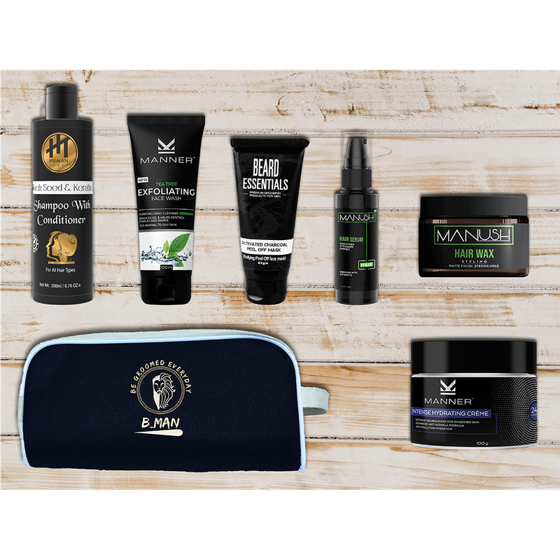 B MAN Grooming Box - Buy BMAN Men Grooming Box Elite Level Online in India.