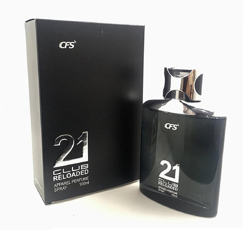 Shop CFS Exotic 21 Club Black Reloaded Perfume 100ML