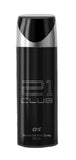 CFS 21 Club Code Black Deodorant Body Spray 200ML