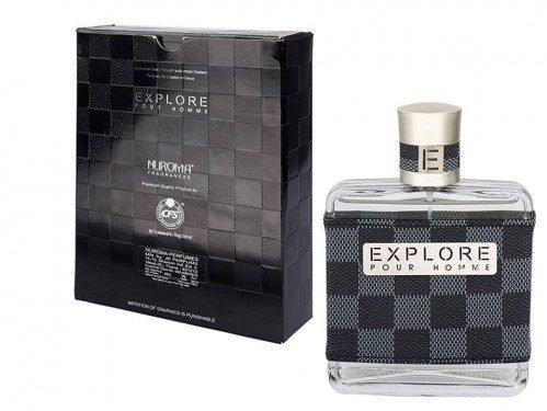 CFS - Buy CFS Nuroma Explorer Black Checks Perfume 100ML Online in India.