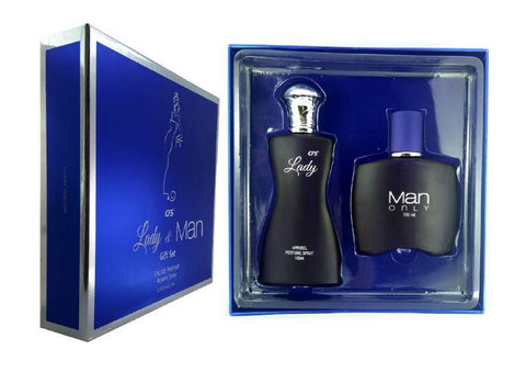 CFS Blue Lady And Blue for Man Gift Set 100ML Each