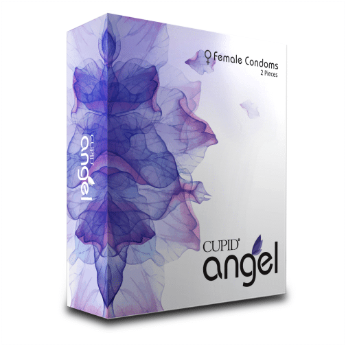CUPID - Buy Cupid Angel Female Condom 2PCS with Discreet Packaging Online in India.