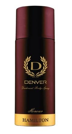 DENVER - Buy Denver Hamilton Honour Deodorant 165ML Online in India.
