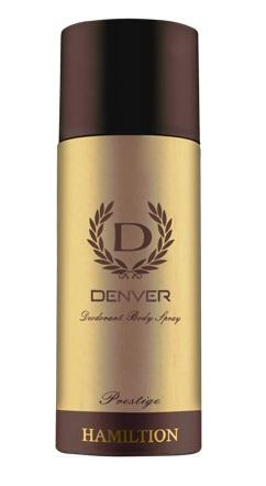 Denver Hamilton Prestige Deodorant Body Spray 165ML